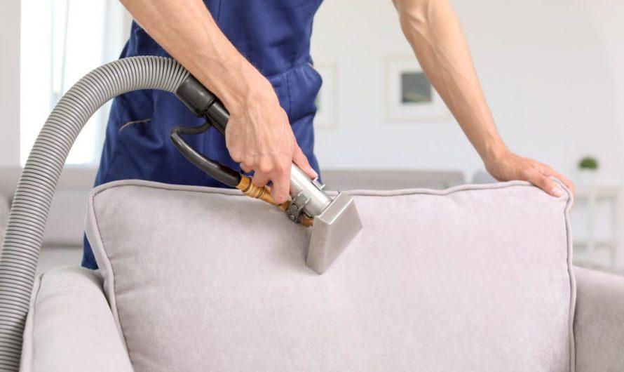 Как осуществляется выездная химчистка мягкой мебели?